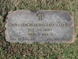 Sgt William Beauregard Bill Aaron