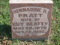 Bernadine H. <i>Pratt</i> Beatty