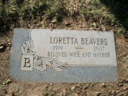 Loretta Lettie <i>Skidmore</i> Beavers