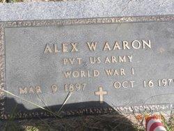Alex W Aaron