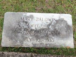 Mary Emma <i>Baldwin</i> Agan