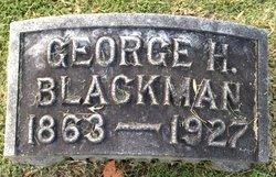 George H Blackman