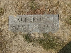 Gertrude Clara <i>Wolbeck</i> Scherping