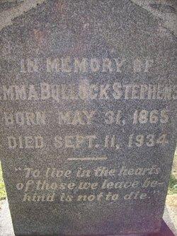Emma <i>Bullock</i> Stephens