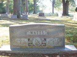 Capt R. D. Watts