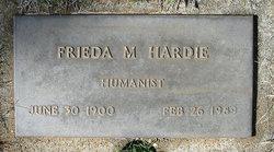 Frieda Minnie <i>Holmes</i> Hardie