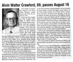 Alvin Walter Crawford