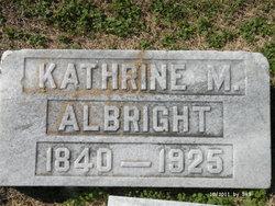 Kathrine M. Albright
