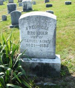 Fredricka <i>Brommer</i> Achey