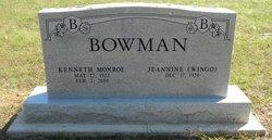 Kenneth Monroe Bowman