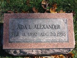 Ada L <i>Youle</i> Alexander