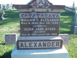 Elizabeth Jane <i>Ayres</i> Alexander