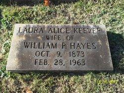 Laura Alice <i>Keefer</i> Hayes