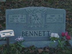 Janice <i>Partin</i> Bennett