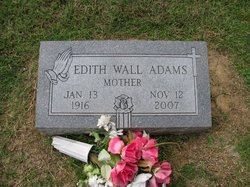 Edith <i>Smith Wall</i> Adams