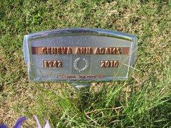 Geneva Ann Adams