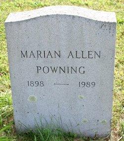 Marian <i>Allen</i> Powning