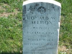 Donald W Allison
