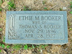Ethie M <i>Sharp</i> Booker