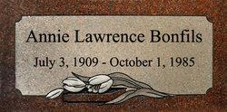 Annie Lawrence <i>Holcomb</i> Bonfils
