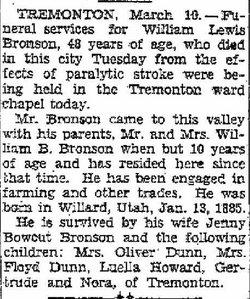 William Lewis Bronson