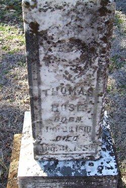 Thomas A. Rose