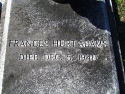 Frances <i>Hurt</i> Adams