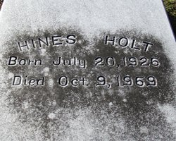 Hines Holt