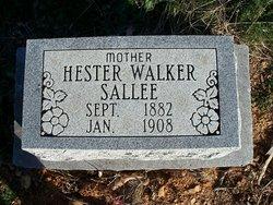 Hester <i>Walker</i> Sallee