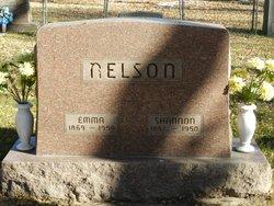 Emma <i>James</i> Nelson