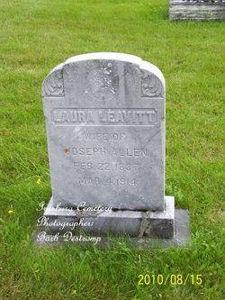 Laura <i>Leavitt</i> Allen