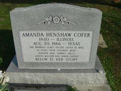 Amanda <i>Hinshaw</i> Coffer