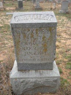 Nancy Katherine Katie <i>Hull</i> DuBose