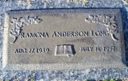 Ramona Ann <i>Morley</i> Anderson-Long