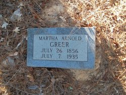 Martha <i>Arnold</i> Greer