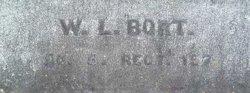 Pvt William L. Bort