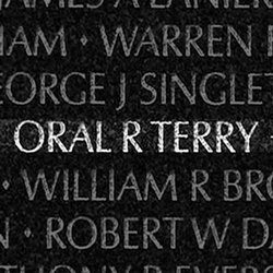 Sgt Oral Ray Terry