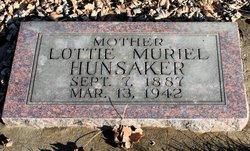 Lottie Muriel <i>Morris</i> Hunsaker