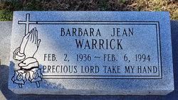 Barbara Jean Warrick