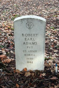 Robert Earl Adams