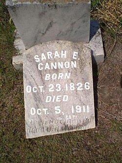 Sarah Emily <i>Holly</i> Cannon
