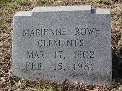 Marienne <i>Rowe</i> Clements