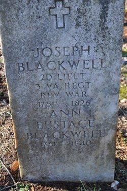 Ann <i>Eustace</i> Blackwell