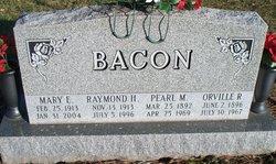 Mary E <i>Alexander</i> Bacon