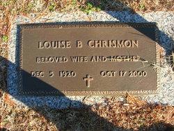 Bertha Louise <i>Beckner</i> Chrismon