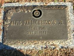 Alvis Paul Chrismon, Jr