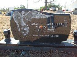 Sarah B Sarahbee Riddle