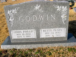Betty <i>Pusey</i> Godwin