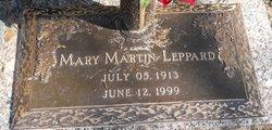 Mary <i>Martin</i> Leppard