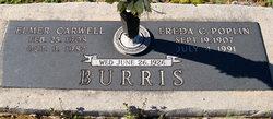 Freda C <i>Poplin</i> Burris